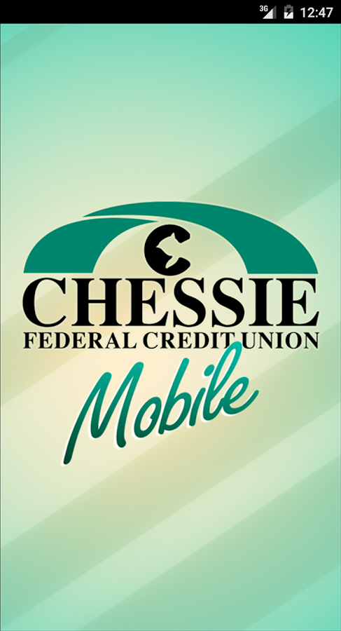 Chessie FCU Mobile Banking- screenshot