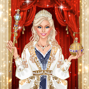 Royal Dress Up - Queen Fashion Salon