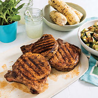 Paprika Pork Chops with Zucchini Recipe