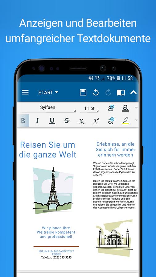 OfficeSuite – Office, PDF, Word Sheets Slides Note v10.9.22213 [Premium Mod] APK [Latest]