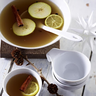 Apple, Pear and Cinnamon Punch.