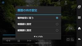 screenshot of SHビデオプレーヤー
