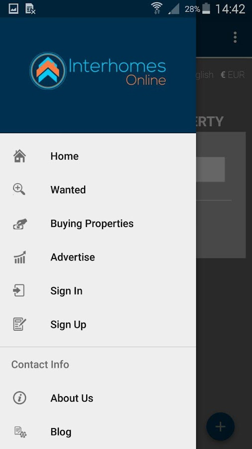 InterHomesOnline- screenshot