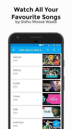 Sidhu Moose Wala All Video Songs 2.1 screenshots 2