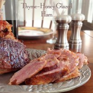 Thyme-Honey Glazed Ham