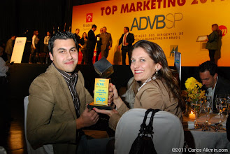 Photo: Top de Marketing 2011 da ADVB - premiação à agência Pop Trade Marketing e seus clientes