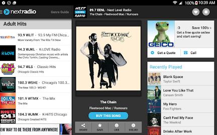 NextRadio - Free Live FM Radio Screenshot 13