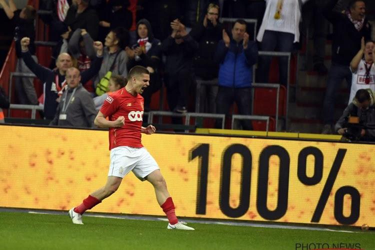 A dix, le Standard refait vibrer Sclessin, revient sur le podium, et empêche cette fois Bruges de croire au titre !