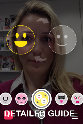 Face Swap lenses For snapchat Screenshot