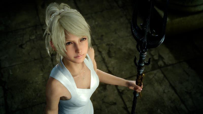 PLAY ARTS KAI ลูน่าเฟรย่า นางเอกเกม Final Fantasy XV