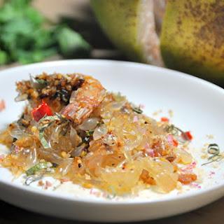Thai Pomelo & Prawn Salad.