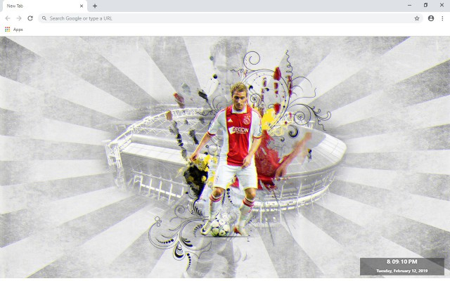 Christian Eriksen New Tab
