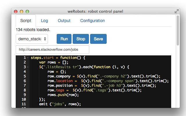 Web Robots Scraper