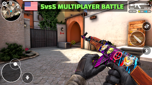 Counter Attack - Multiplayer FPS 1.2.40 com.SevenBulls.CounterAttackShooter apkmod.id 2