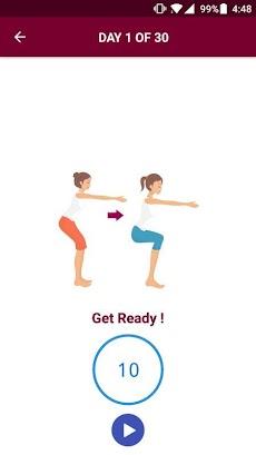 30 Days Squat Challengeのおすすめ画像3