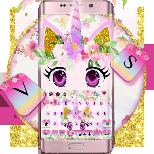 Unicorn Flower keyboard
