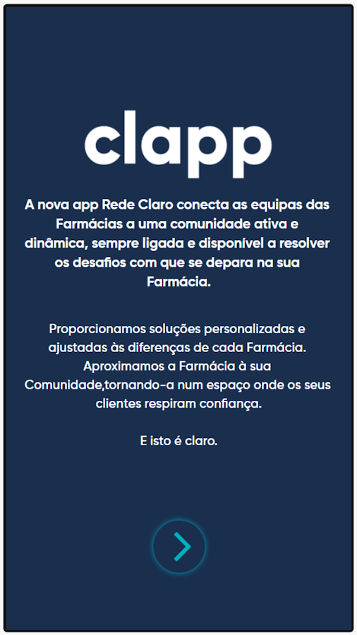 clapp– captura de ecrã