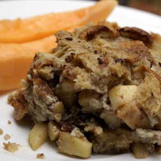 Caramel Apple Breakfast Casserole.