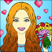 Date Coloring Book icon
