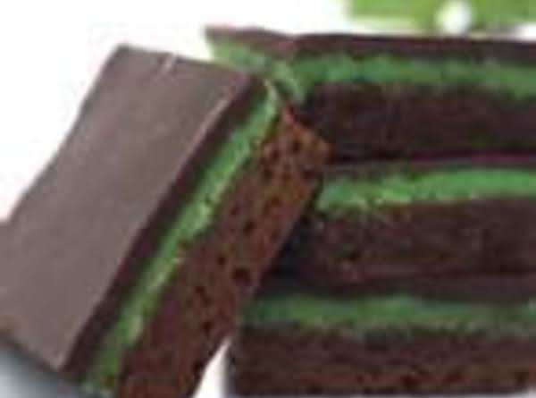 Chocolate Mint Squares Recipe