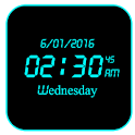 LED Digital Clock Live WP icon