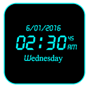 LED Digital Clock Live WP