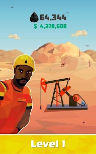 Idle Oil Tycoon: Gas Factory Simulator Mod Apk Download For Android and Iphone 7