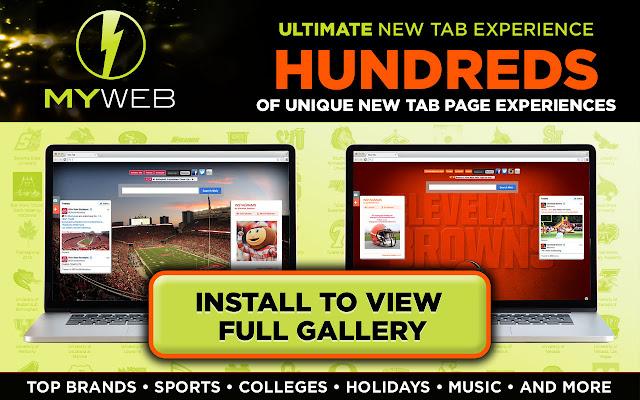 MyWeb New Tab