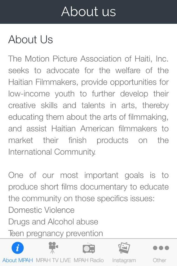 Haiti Cinema- screenshot