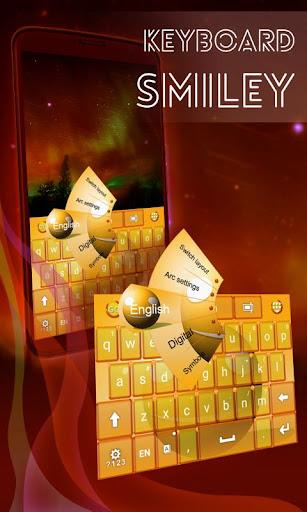 Smiley Keyboard Theme