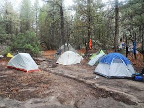 Photo: Camp site at Harlan.