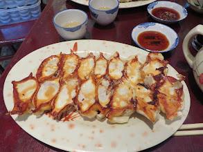 Photo: Dumplings, stuffed with lamb and onions