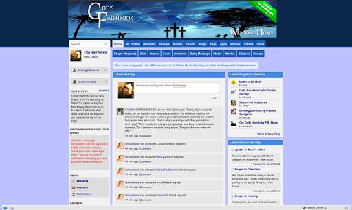 Gods Faithbook App