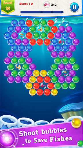 Fish Rescue : Bubble Shooter Game image   5