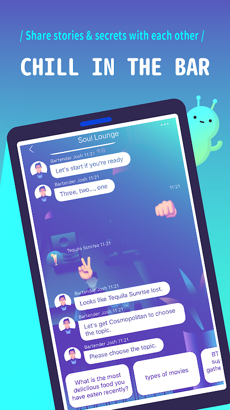 Rooit - Anonymous Chat screenshots