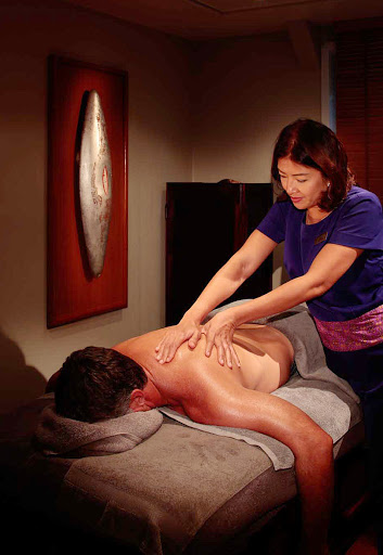 Seadream-spa-treat-deck.jpg - Spa treatments include massage and aromatherapy on SeaDream cruises.