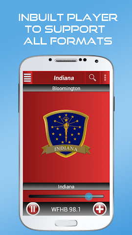 android A2Z Indiana FM Radio Screenshot 0