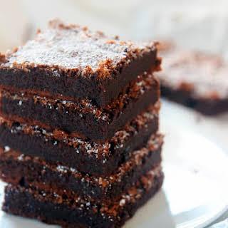 2 Ingredient Nutella Brownies {Gluten Free}.