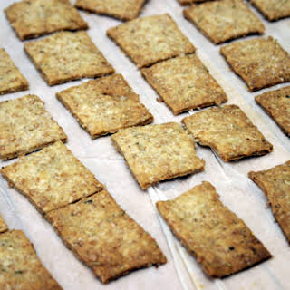 Olive Oil & Rosemary Wheat Thins.