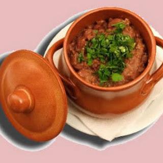 Lobio Soup (Red Bean Soup)