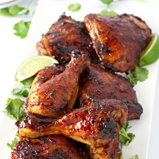 Sweet and Spicy Chicken Marinade.