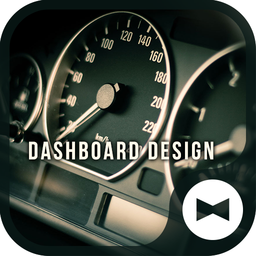 Dashboard Design Car Theme Icon