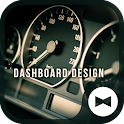 Dashboard Design Car Theme icon