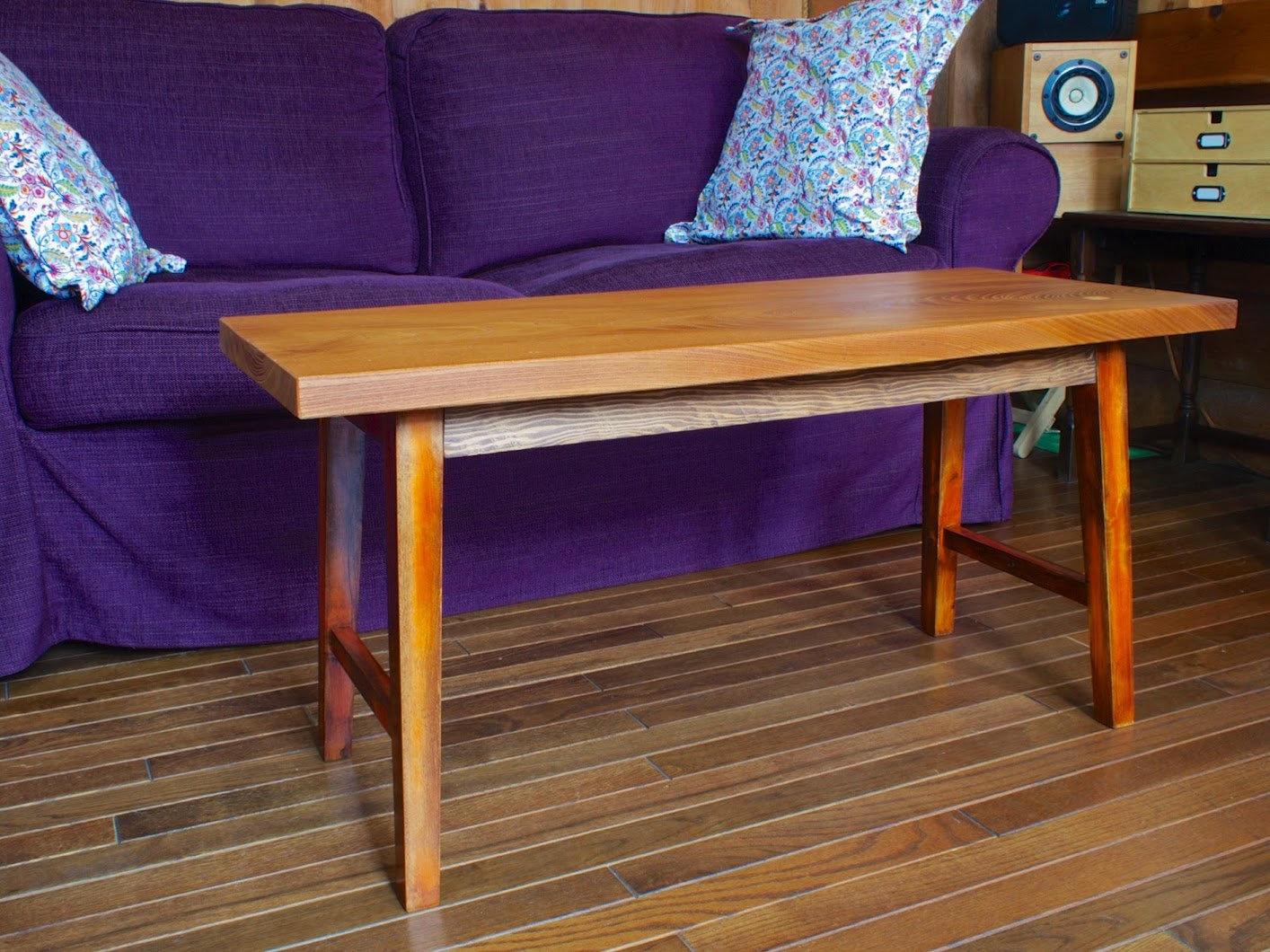 Ikea Hacked Zelkova Coffee Table