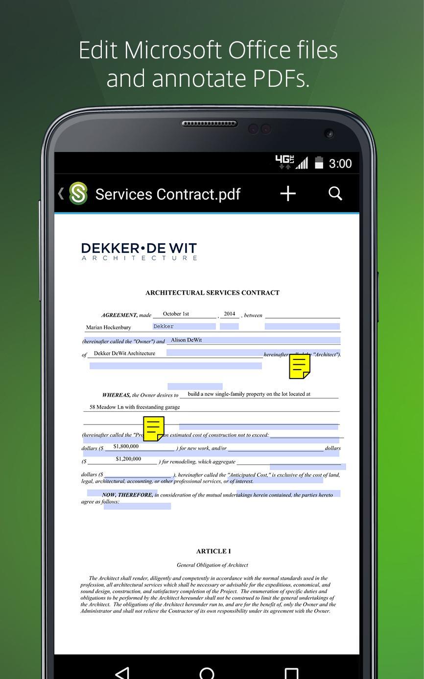 Citrix ShareFile for Tablets screenshot #4