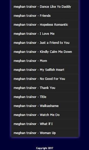 kumpulan lagu meghan trainor mp3