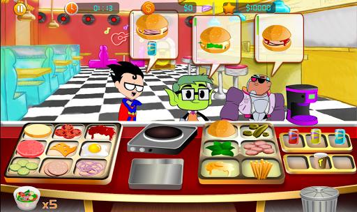 super heros titans Burgers Simulation : restaurant for PC