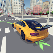 Driving School 3D Icon
