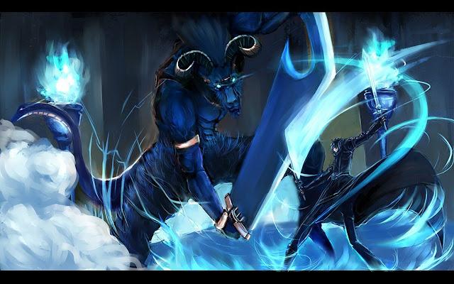 Sword Art Online Kirito Fight 1680x1050