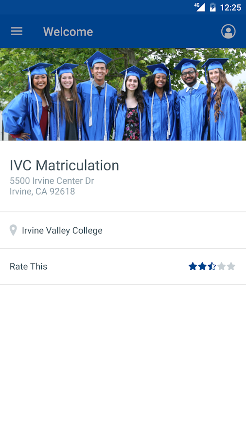 Irvine Valley College- screenshot